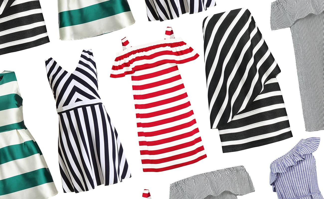 Vestiti estivi: 20 vestiti corti a righe da comprare adesso!