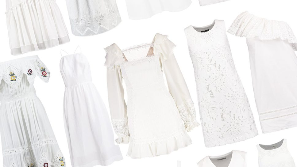 Un vestito bianco ed è subito estate! Qui trovi una super selezione dei più belli
