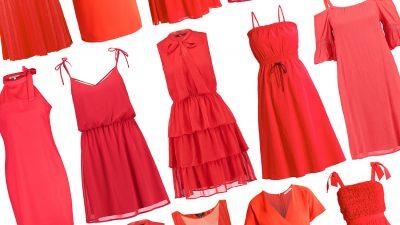 Vestiti corti rossi: 20 modelli per l'estate 2017