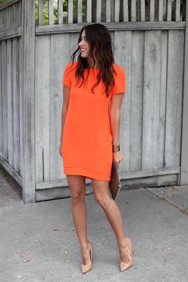 Mini dress dai colori vitaminici