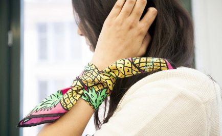 5 modi alternativi di indossare un foulard