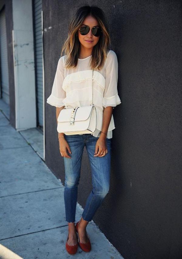 Jeans e ballerine