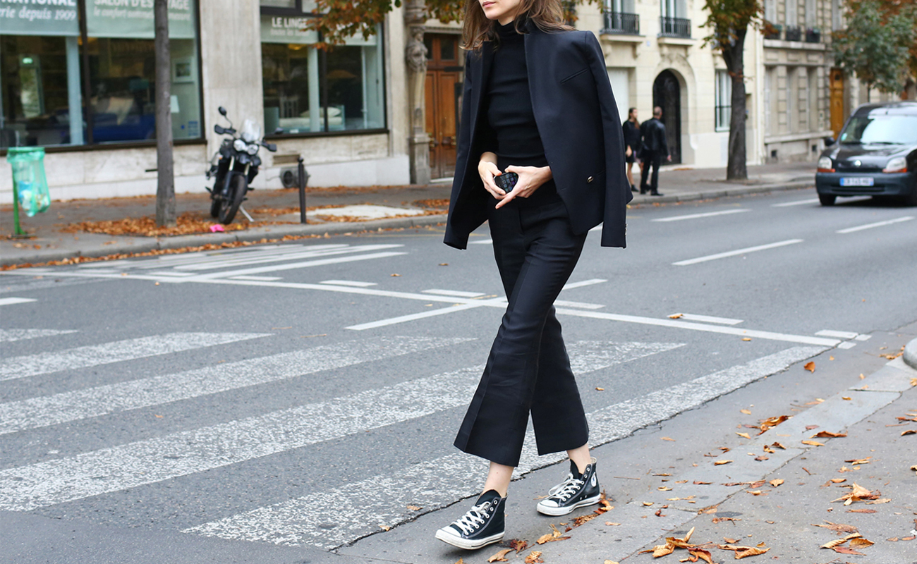 Come indossare le All Star: le idee look per l'autunno