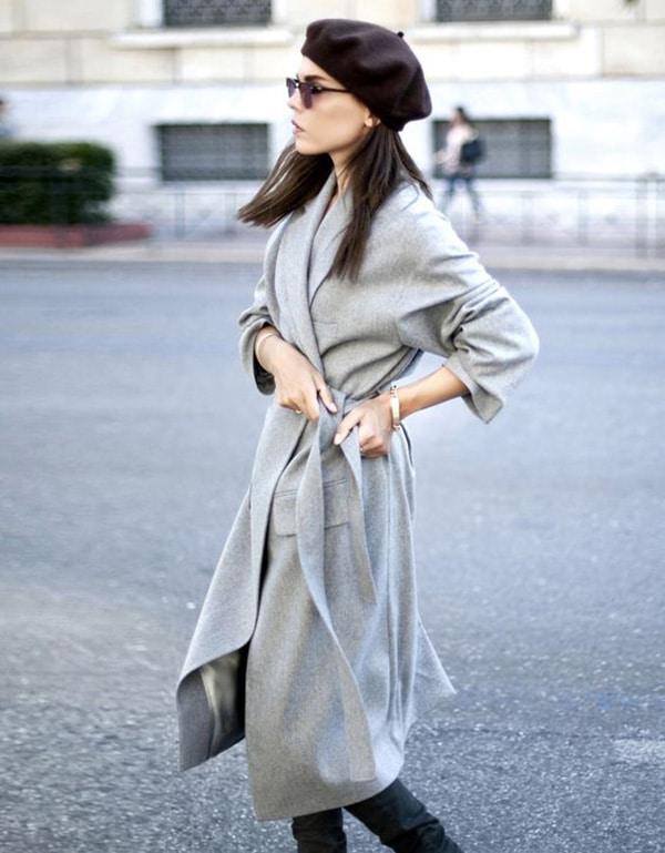 Basco e cappotto