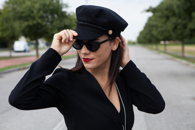 cappello marinaio outfit fashion blogger