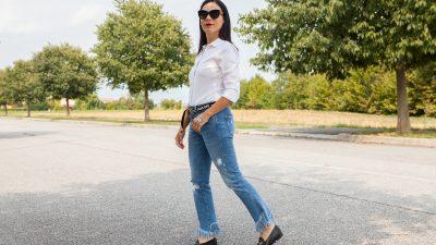 Jeans in autunno: portali così!