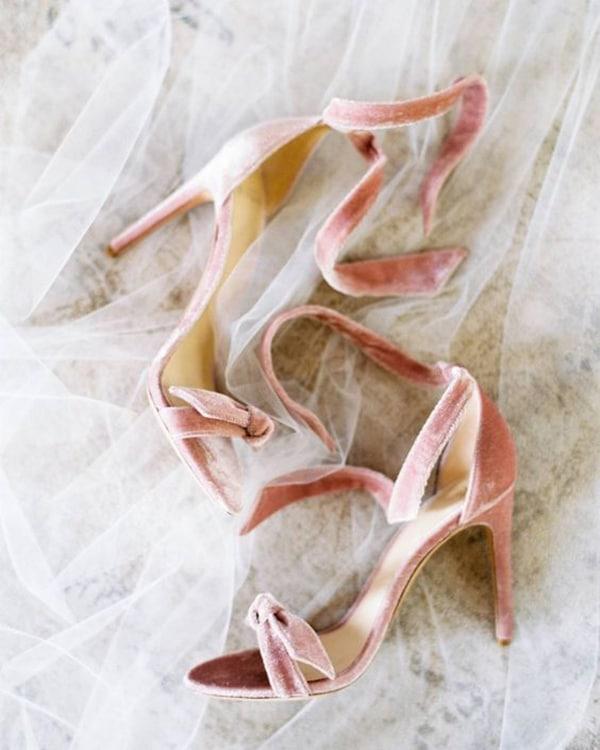 Sandali di velluto