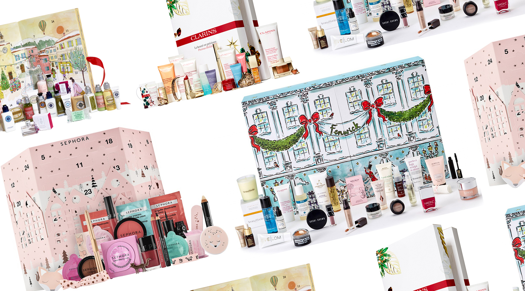 Calendario dell'avvento beauty Natale 2017: ecco i più belli!