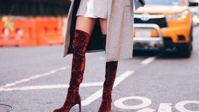 Scarpe di velluto: i modelli di punta dell'autunno-inverno