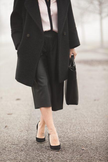 pantaloni di pelle abbinamenti