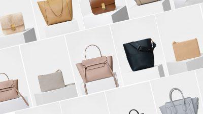 Céline, tutte le borse per la primavera 2018