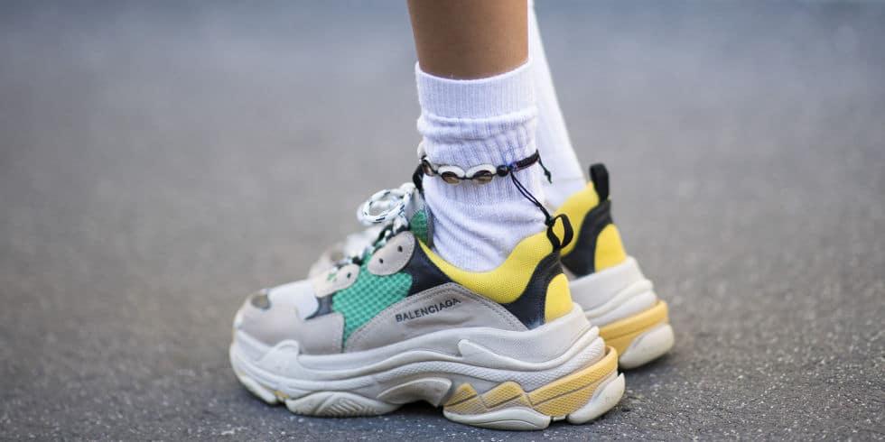 sneakers suola alta balenciaga