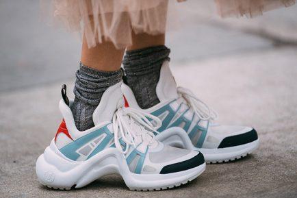 scarpe da ginnastica suola grossa