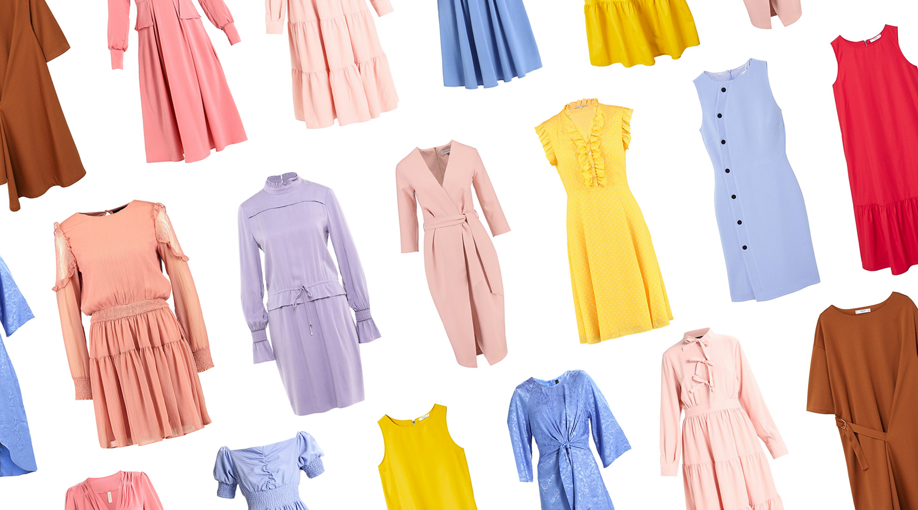 Vestiti tinta unita: i colori moda primavera 2018 più trendy!