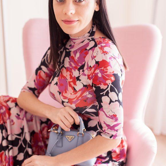vestiti a fiori primavera 2018