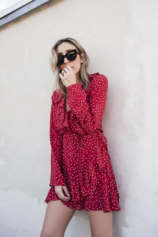 Vestito lungo in stile francese
