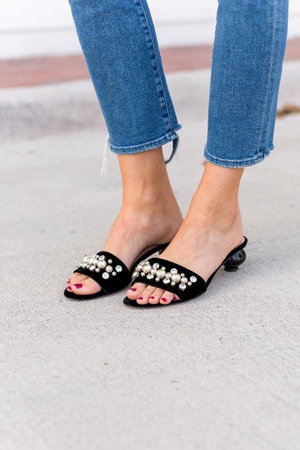 Sandali e jeans