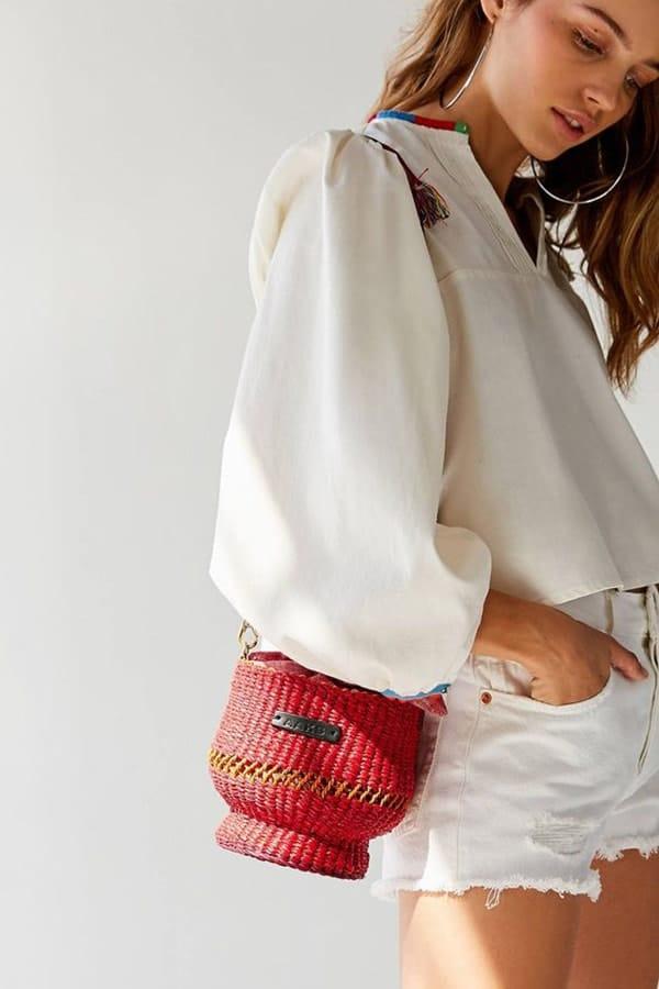 Mini bag a secchiello