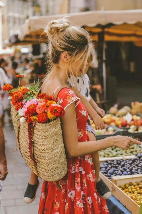 vestiti fiorellini piccoli