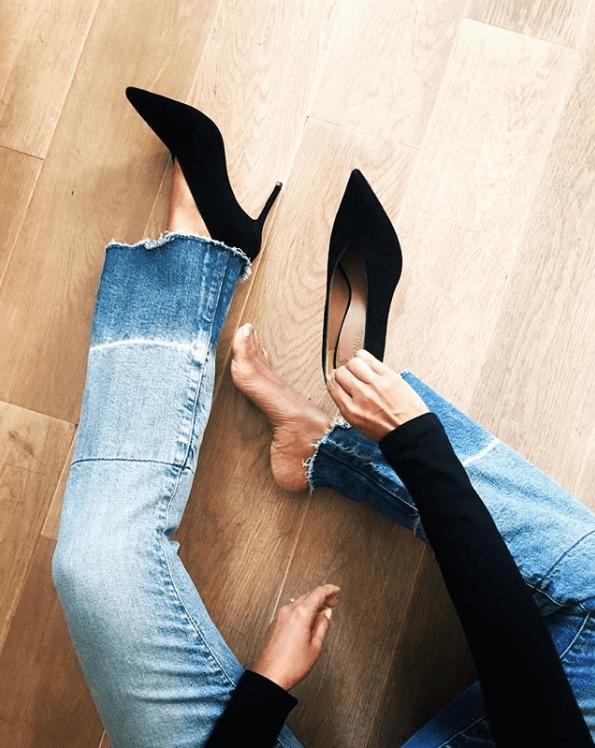 Scarpe con lo scollo a V: i modelli per la primavera 2018