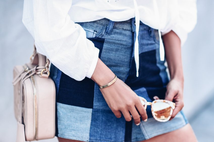 minigonna jeans estate 2018