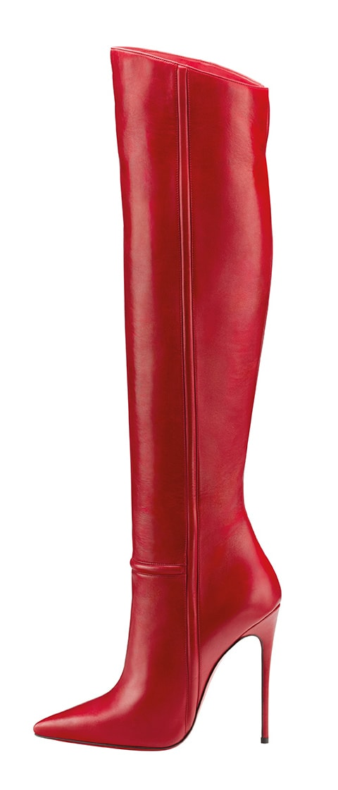 Christian Louboutin Armura Boot Red