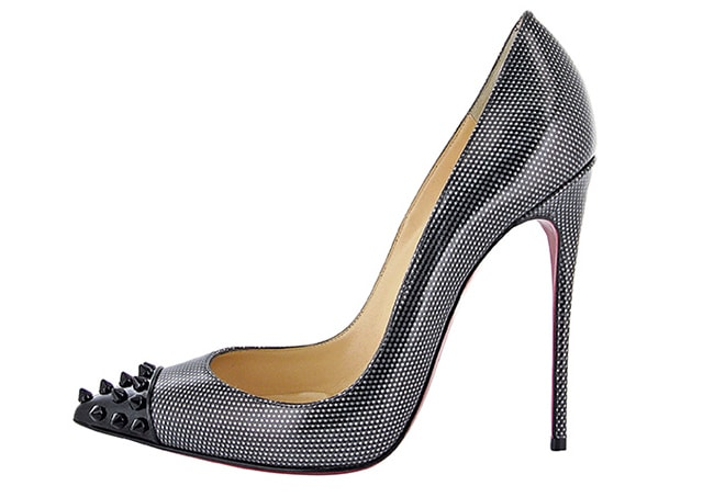 Christian Louboutin Geo Pump 120 Carbonne Black