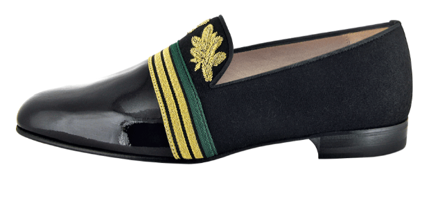 Christian Louboutin Officier Flat Black