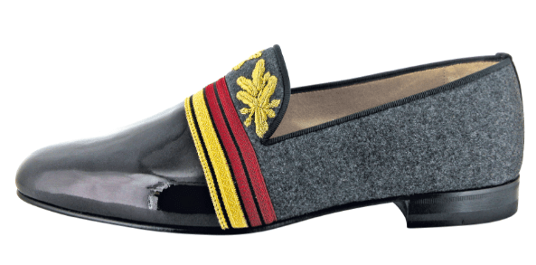 Christian Louboutin Officier Flat Floque