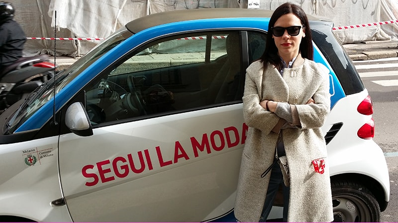 #seguilamoda Camera Moda Milano Fashion Week Elena Schiavon