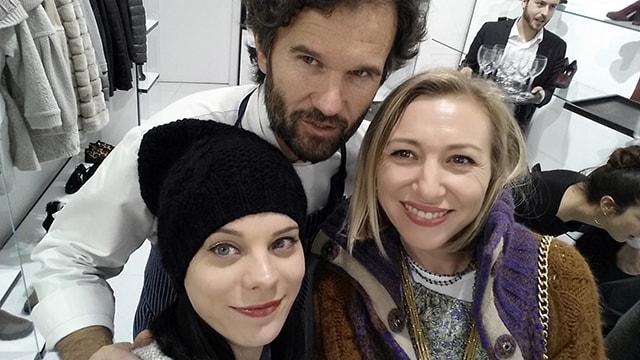 carlo cracco selfie elena schiavon fashion blogger