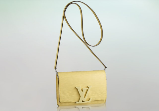 yellow louis vuitton louise