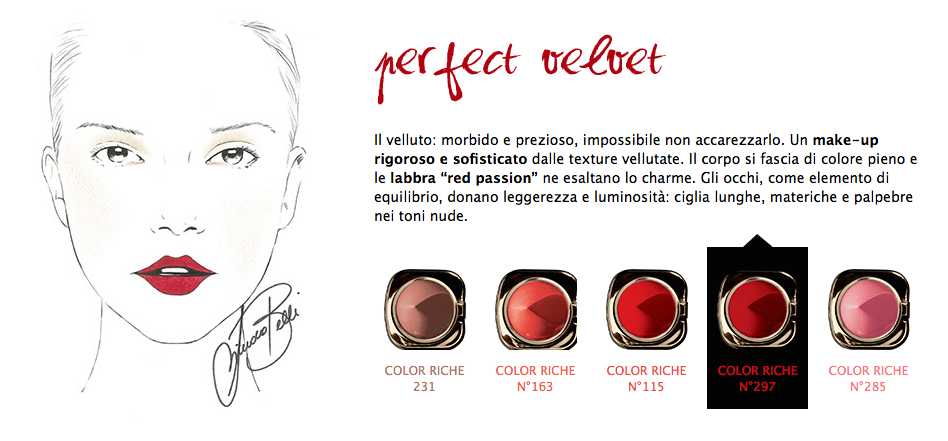 Review rossetti Lips Code by Color Riche L'Oréal Paris per la Mostra del Cinema di Venezia 2014