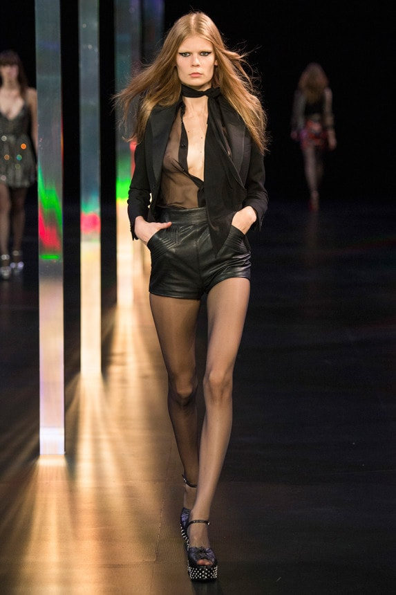 saint laurent parigi primavera estate 2015