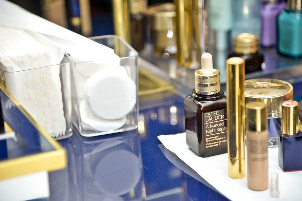 Estée Lauder Re-Nutriv Ultimate Diamond, il party Gold con Grazia