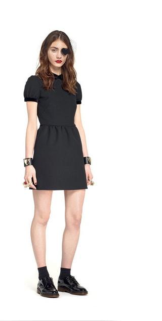 low priced 5594e ec91b Shopping guide: abito nero con colletto bianco, dove comprarlo
