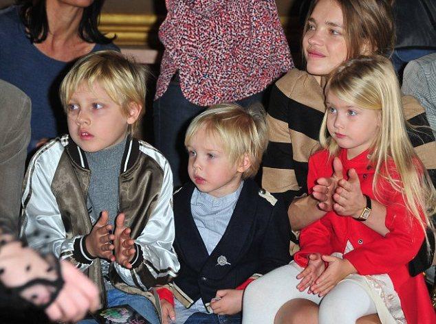 natalia vodianova children