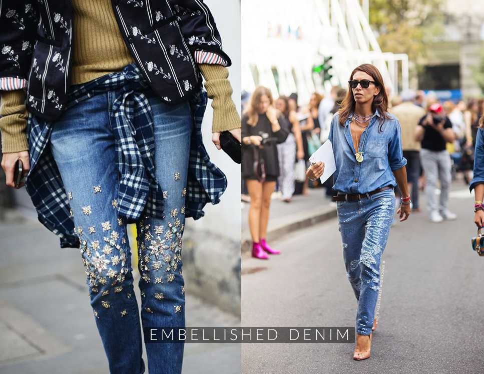 DENIM-DECORATI look consigli