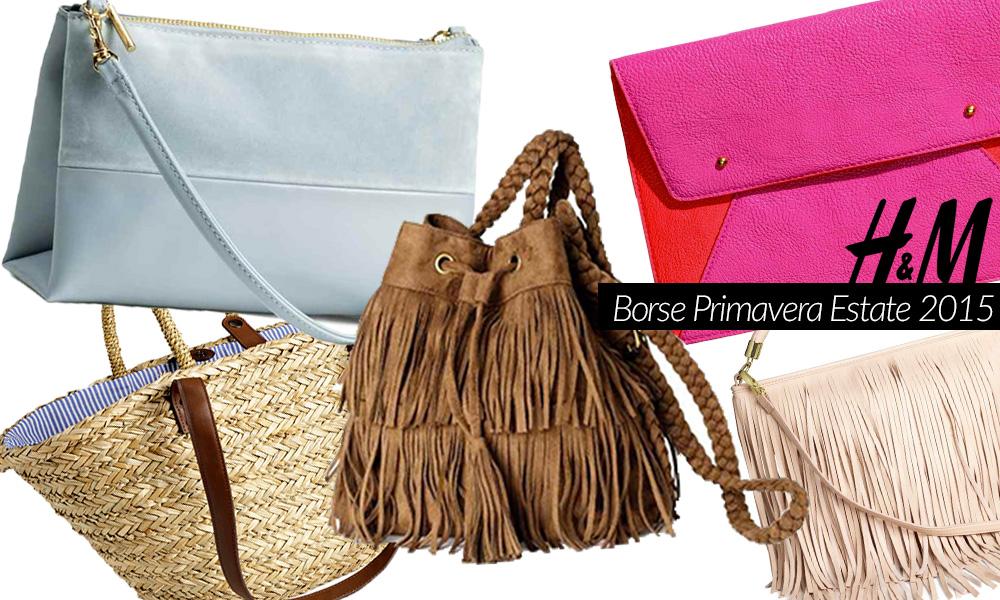 comprare popolare 1e9ed 5735b Borse H&M Primavera/Estate 2015 (FOTO)