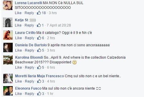 commenti facebook calzedonia1