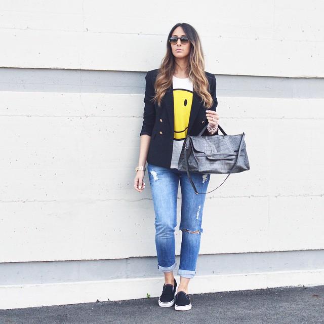 slip-on fashion blogger 2015