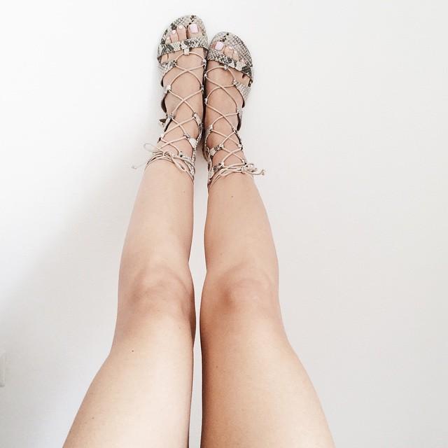 sandali gladiatore fashion blogger