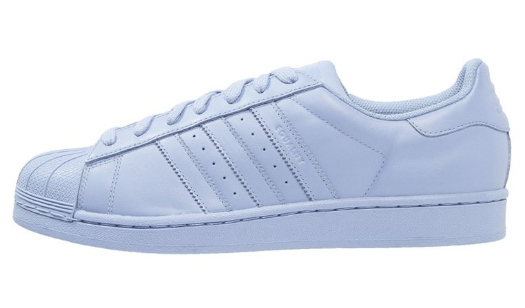Adidas Superstar azzurro