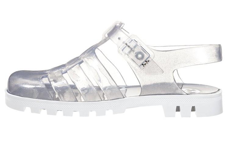 sentirsi a proprio agio modelli alla moda scarpe eleganti Jelly shoes per l'estate 2015: i sandaletti in gomma sono ...