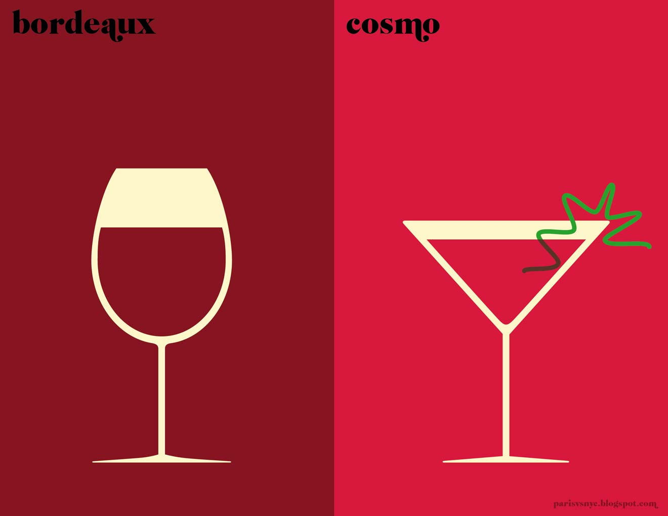 apero paris vs new york print