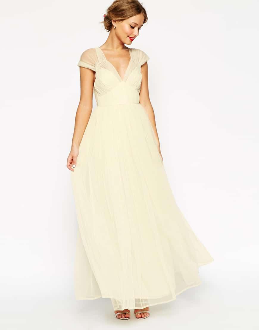 0478a1e187ec Vestiti per matrimonio  100 idee tra abiti pastello