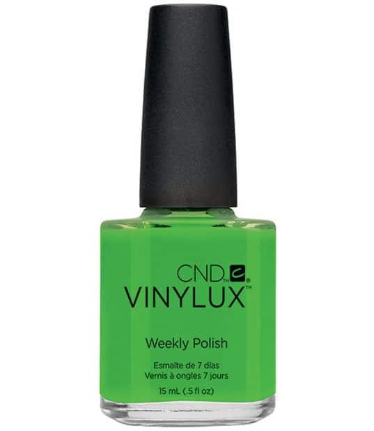 Smalti Vinyl Lux, tonalità 170 Lush Tropics, 166 Mint Convertible e 183 Creek Side. Tutti gli smalti Vinyl Lux sono disponibili sullo store online