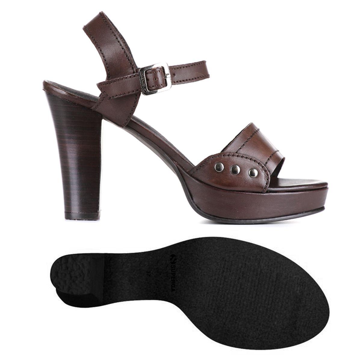 sandalo pelle tacco 10 cm 79