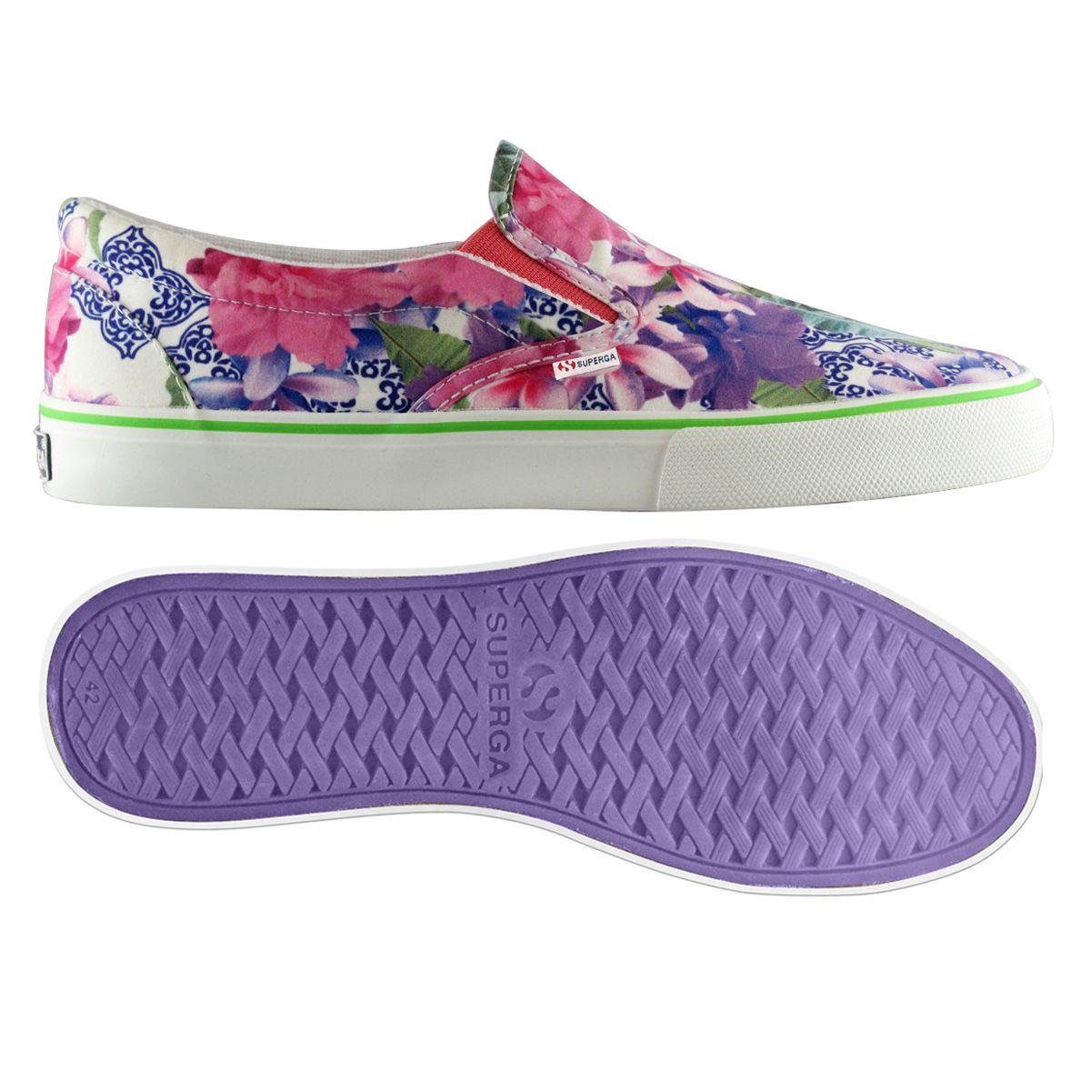 slipper floreale 75