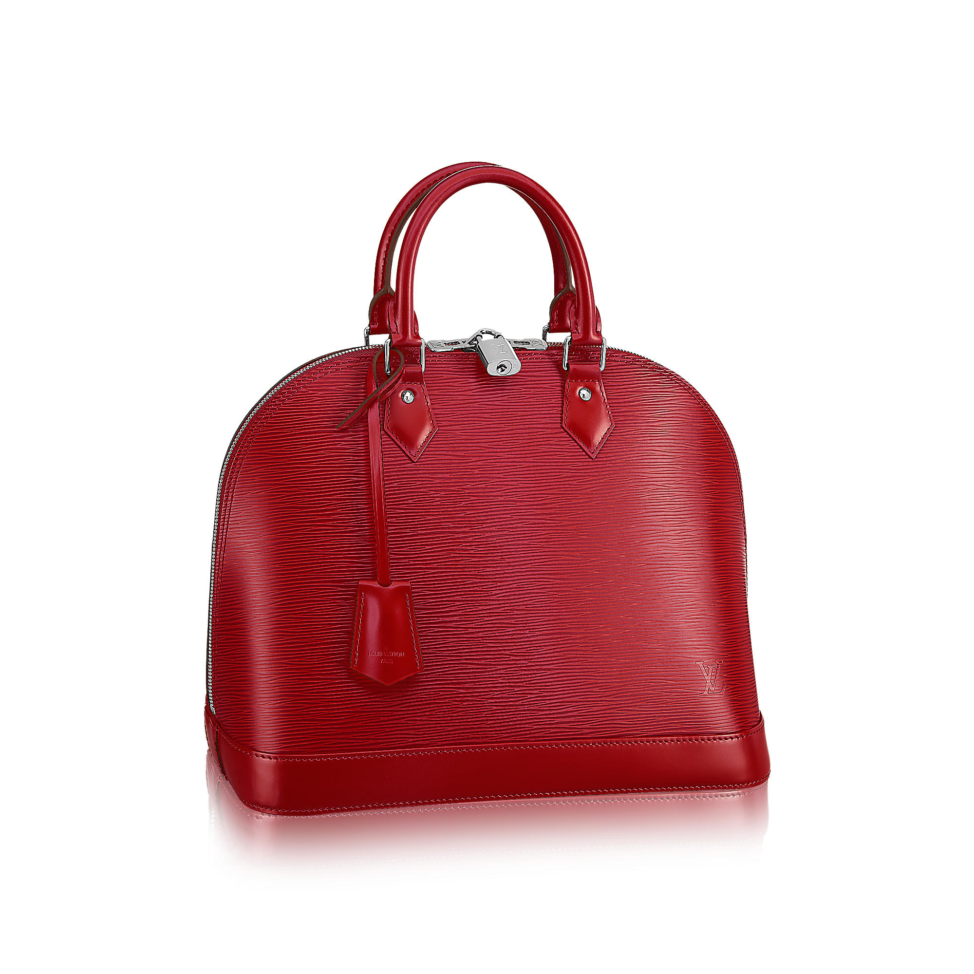 Alma mm epi leather rossa